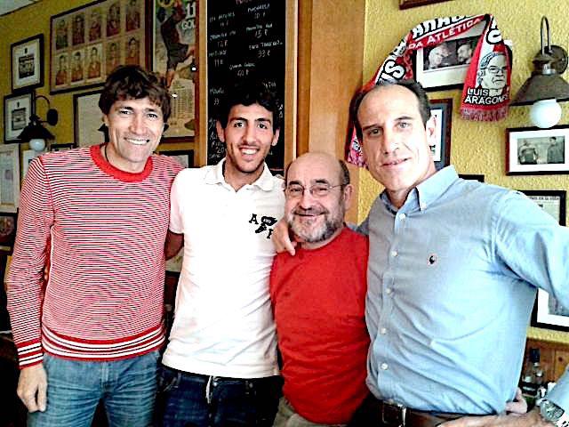 Julio Salinas, Parejo y Voro
